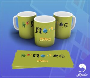 Caneca Chaves Chapolin