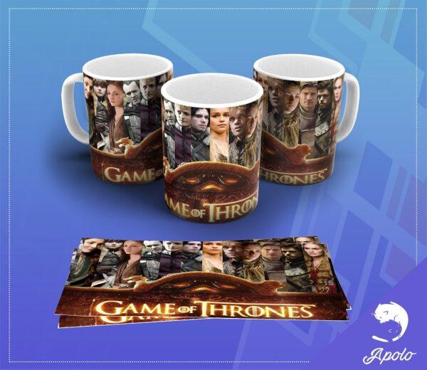 Caneca Game of Thrones
