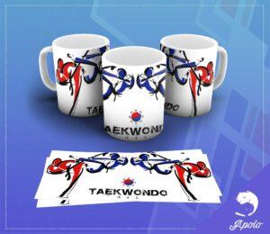 Caneca Taekwondo